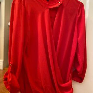 Wonen Ro&De red blouse